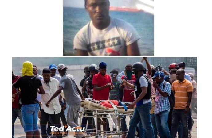 Des manifestants utilisent le cadavre d'un jeune homme, accusent la PNH d'assassinat