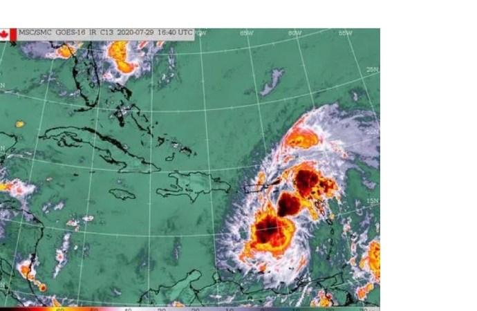 Le pays est sous l'influence d'une nouvelle onde tropicale
