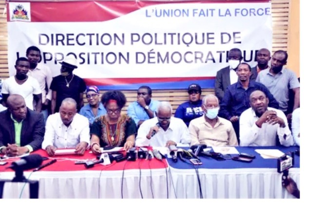 L'opposition se dote d'une Direction politique !