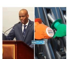 Jovenel Moïse annonce une nouvelle réduction du prix du diesel et du kérosène