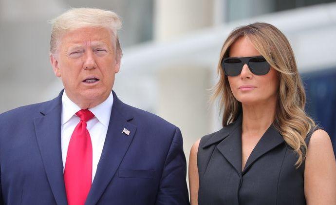 Donald Trump et son épouse Melania sont atteints de la COVID-19