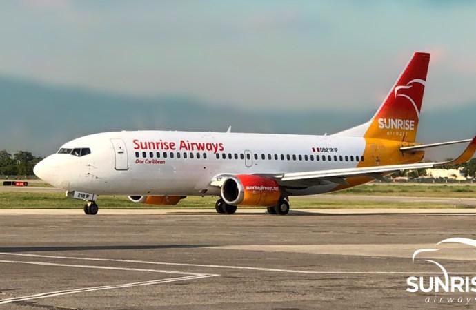 Haïti : Sunrise Airways annonce la reprise des vols aériens vers Cuba