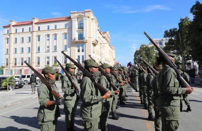Les Forces Armées d'Haïti lancent un recrutement pour la formation d'une classe de cadets
