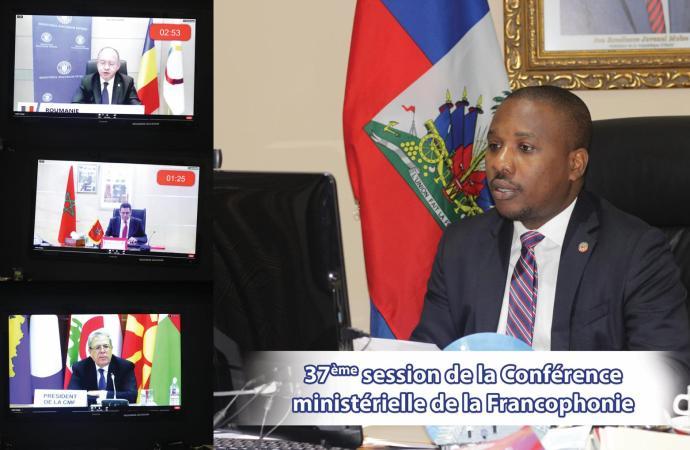 Projet d'élaboration de la nouvelle Constitution : Claude Joseph sollicite le support de l'OIF