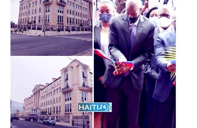 Inauguration des nouveaux locaux de la Cour des Comptes