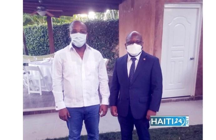 Le Chancelier haïtien en tournée officielle en République dominicaine