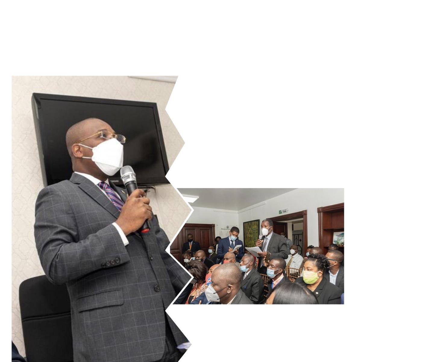 Claude Joseph rencontre la communauté haïtienne de Santo Domingo, promet l'accompagnement du gouvernement