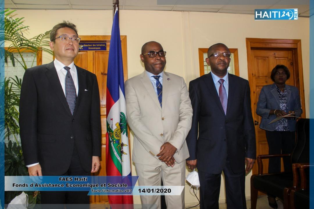 Coopération : Haïti reçoit 1000 tonnes de riz de Taïwan