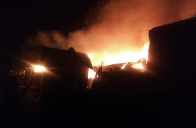 Drame : Le marché « Chatelier » de Léôgane incendié