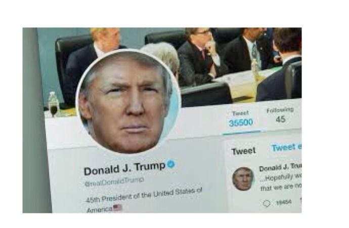 Le compte twitter de Donald Trump bloqué, risque une suspension définitive