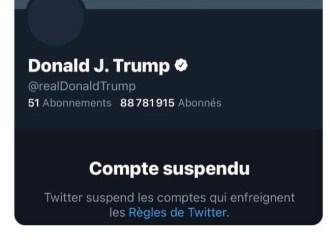 Le compte Twitter de Donald Trump suspendu de manière permanente
