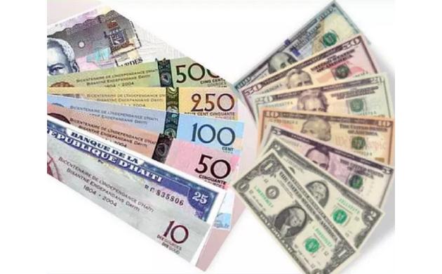 BRH-Taux de référence : 73,13 gourdes pour un dollar US