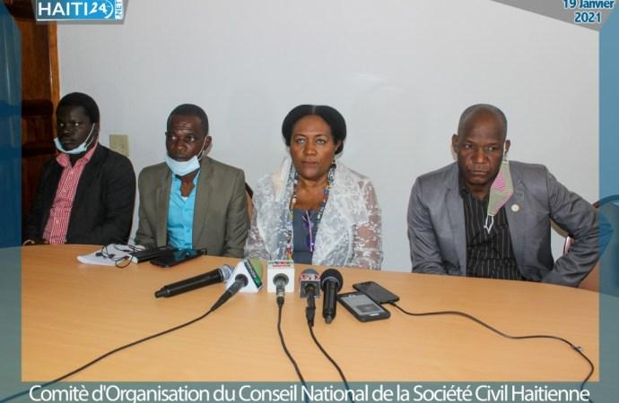 Lancement du Conseil National de la Société Civile Haïtienne