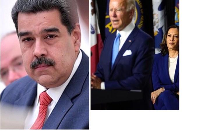 L'administration  Biden-Harris Exclut tout dialogue avec Maduro
