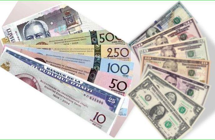 Taux de référence : la BRH affiche 85,33 gourdes pour un dollar US