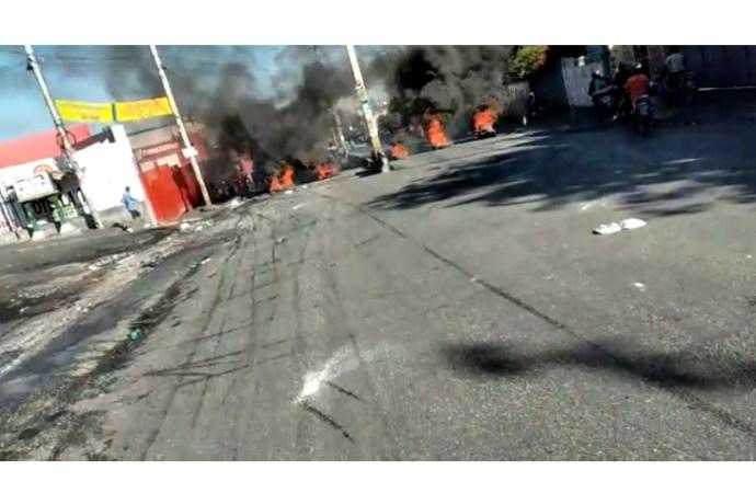 Vive tension dans la capitale haïtienne et dans plusieurs autres communes