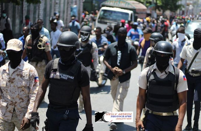 La police nationale d'Haïti, une institution en voie de disparition?
