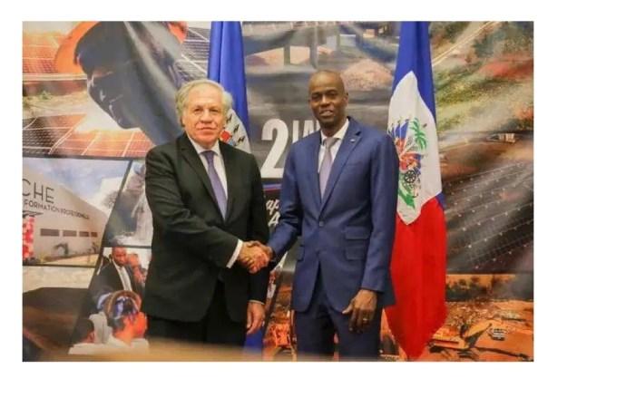 Insécurité : Jovenel Moïse requiert l'aide de l'OEA pour ramener la paix en Haïti