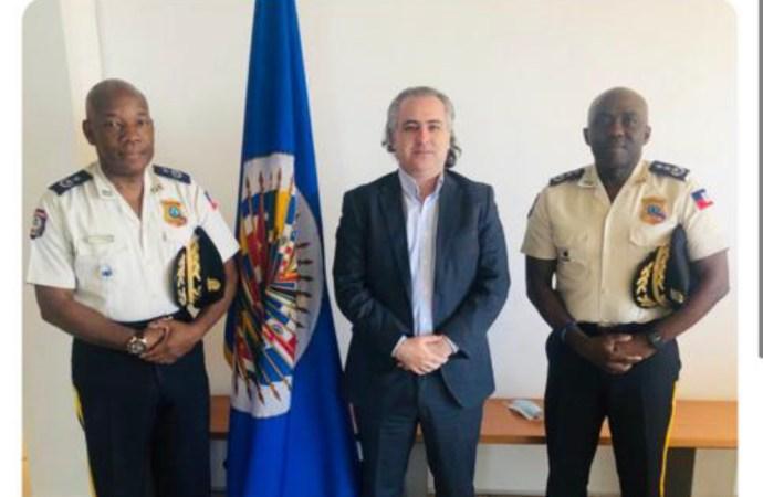 Sécurité : fructueuse rencontre entre Léon Charles et un représentant de l'OEA