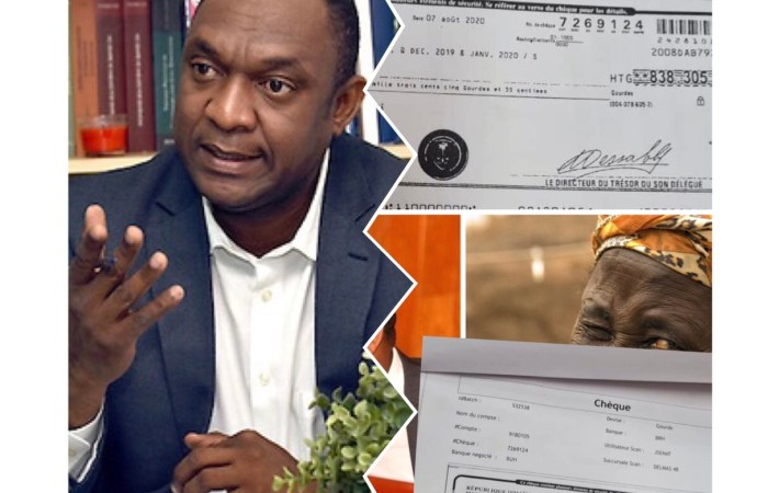 Youri Latortue confirme l'authenticité du chèque émis au nom de sa mère