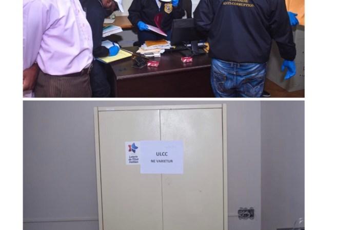 Loterie de l'Etat Haïtien mise sous scellés, des saisies effectuées par l'ULCC