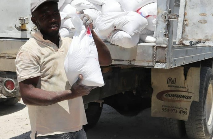 Plus de quatre mille personnes vulnérables bénéficient des Projets « Kantin Mobil » et Panye Solidarite » du FAES