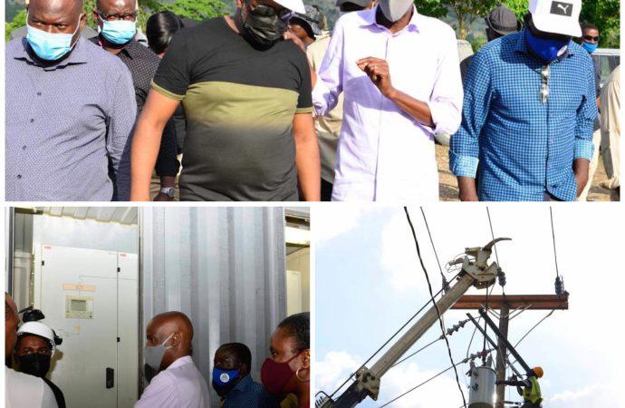 Energie : Jovenel Moïse visite la centrale électrique de Saint Raphaël