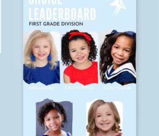 """Fahenlly Claire Argant dans le top 5 du concours """"Miss Elementary America Pageant"""""""