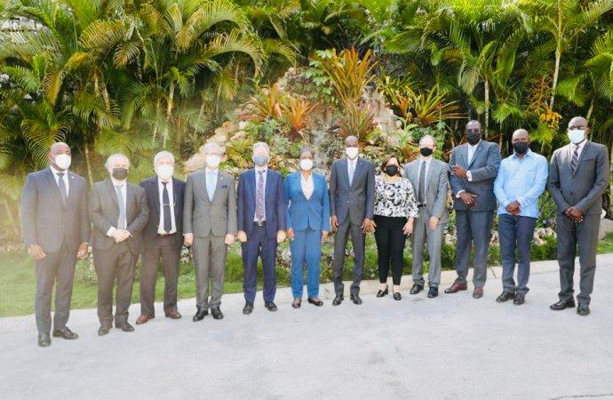 Jovenel Moïse remercie la Mission de l'OEA en Haïti, sollicite son appui pour les prochaines élections