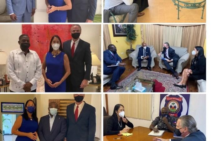 Daniel Foote a rencontré les membres du gouvernement et des représentants de la société civile