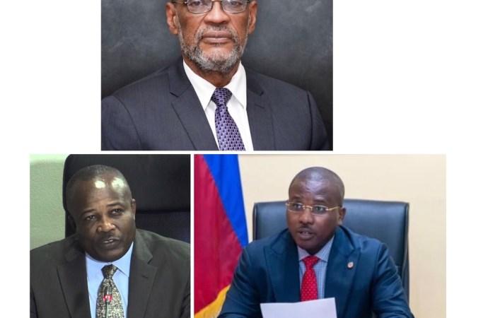 Les membres du cabinet ministériel d'Ariel Henry sont connus !