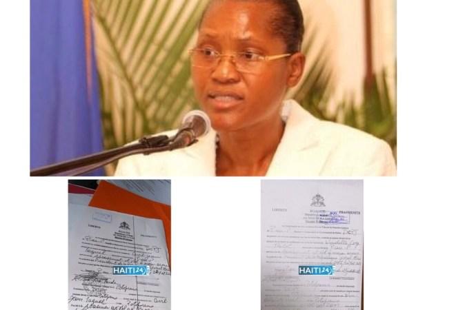 Mandat d'amener contre la juge Windelle Coq et le commissaire Jean Laguel Civil