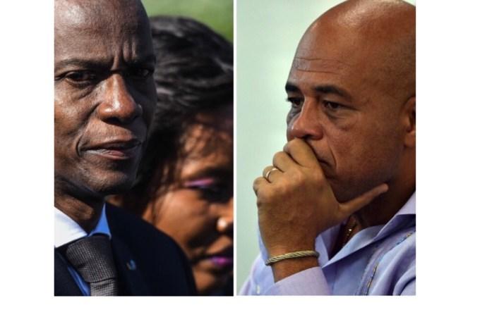 Hommage de Michel Martelly à Jovenel Moïse : « Nous n'allons pas perdre la bataille »