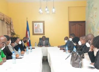 Rencontre avec le CEP : Claude Joseph entend réaliser les élections