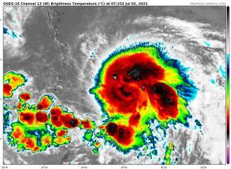 Météo : La tempête ELSA s'éloigne d'Haïti