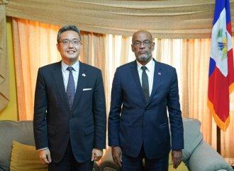 Diplomatie : Importante réunion entre le premier ministre Ariel henry et les ambassadeurs de l'Argentine et de la République Chine-Taïwan