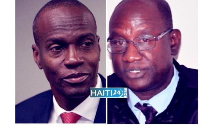 L'instruction du dossier d'assassinat de Jovenel Moïse confiée au juge Mathieu Chanlatte
