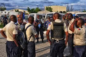 PNH : les policiers qui ne sont pas en poste depuis trois mois doivent retourner les matériels en leur possession