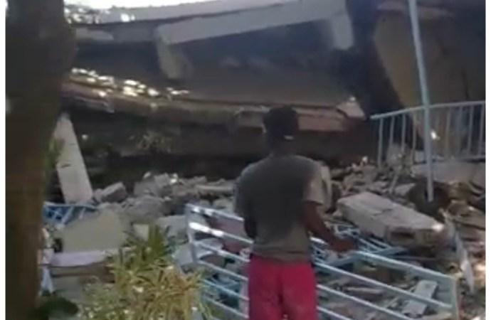Séisme en Haïti : L'ancien sénateur Gabriel Fortuné sous les décombres