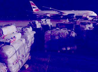 Séisme : Les fournitures de secours du Gouvernement britannique sont arrivées en Haïti