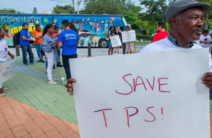 TPS : « Si vous n'êtes pas déjà aux États-Unis, vous n'êtes pas éligible », précise l'ambassade américaine