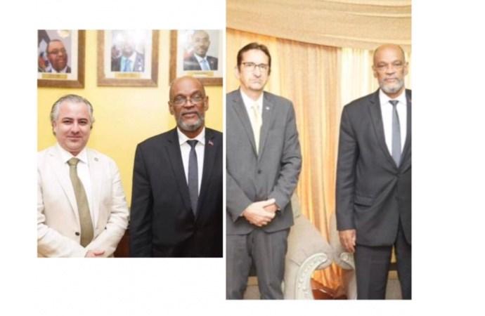 Élections-Sécurité : Ariel Henry a rencontré les représentants du BINUH et de l'OEA