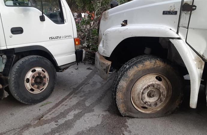 Circulation: La route nationale numéro 3 bloquée à hauteur de Boucan-Carré