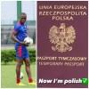Donald Guerrier obtient la nationalité polonaise