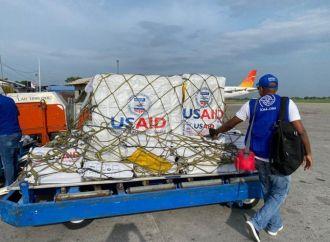 Séisme : Un avion et 2 navires livrant des articles de secours de l'USAID arrivent en Haïti