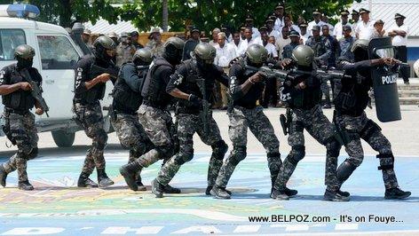Insécurité: Déploiement des différentes unités de la PNH au centre-ville
