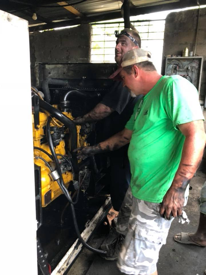 Rebuilding the Generator – Haitian Christian Outreach