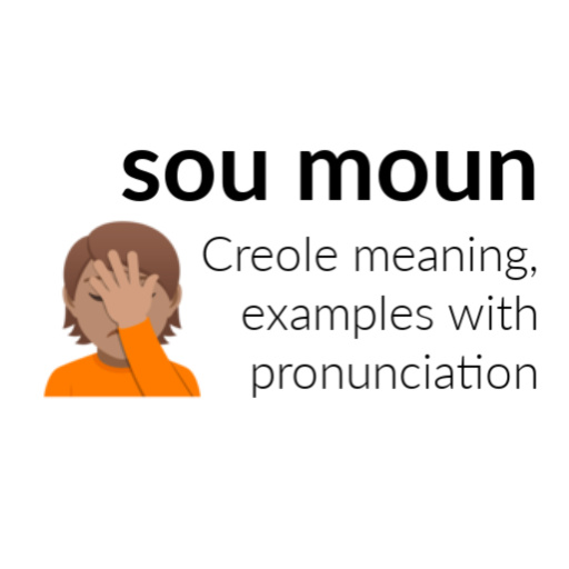Sou moun meaning in Haitian Creole - examples and audio pronunciation