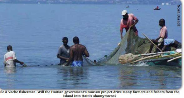 Ile a vache fishermen