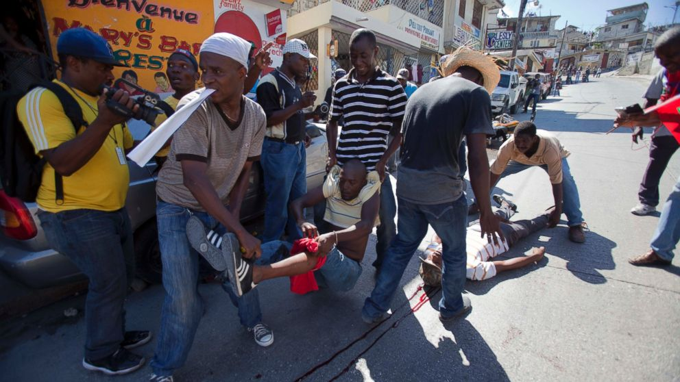Anti-Government Protest in Haiti Turns Violent